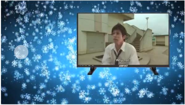 山田くんと7人の魔女 デイリーモーション動画の動画画面が小さい